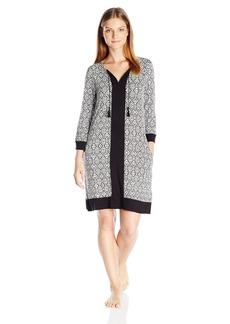 Ellen Tracy Women's Short Long Sleeve Tunic