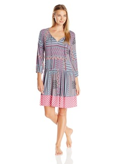 Ellen Tracy Women's Short Rayon Spandex Tunic