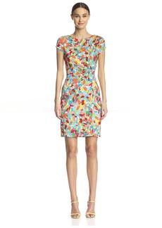 Ellen Tracy Women's Short-Sleeve Jersey Dress