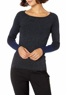 ELLEN TRACY Women's Size Colorblock Ribbed Sweater  Petite X-Large