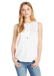Ellen Tracy Women's Size Linen Button Tunic  Petite Medium