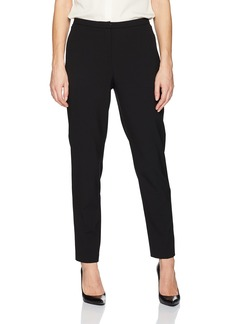 ELLEN TRACY Women's Slim Ankle Zip Pocket Pant el/Black