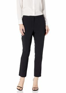 ELLEN TRACY Women's Slim Ankle Zip Pocket Pant el/Black