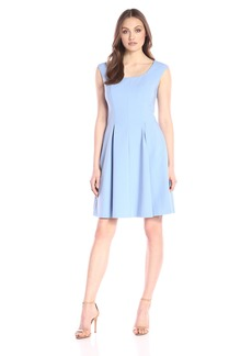 Ellen Tracy Women's Soft Fit and Flare Dress