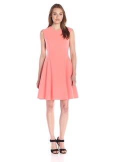 Ellen Tracy Women's Soft-Fold Dress