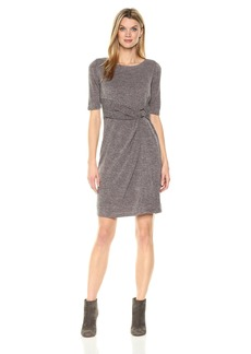 Ellen Tracy Women's Sweater Dress Dress -taupe