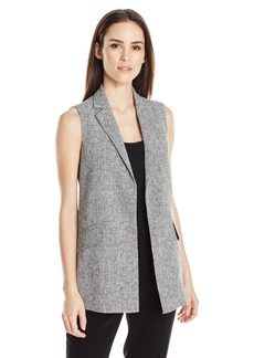 ELLEN TRACY Women's Textured Gilet