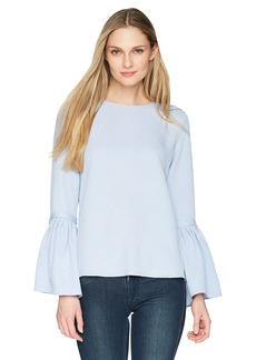 ELLEN TRACY Women's Trench Sleeve Blouse  S