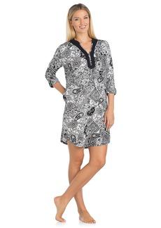 ELLEN TRACY womens  Tunic Night Shirt   US