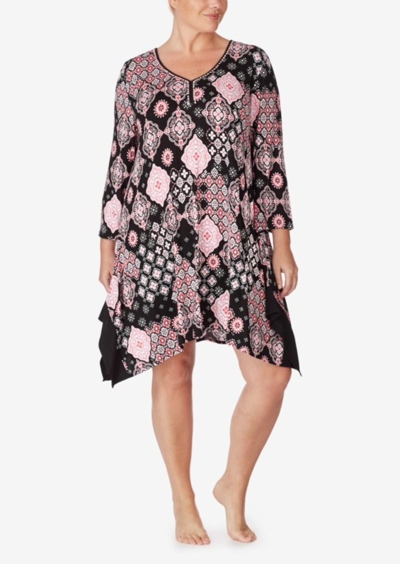 Ellen Tracy Women's Tunic Sleepshirt Nightgown