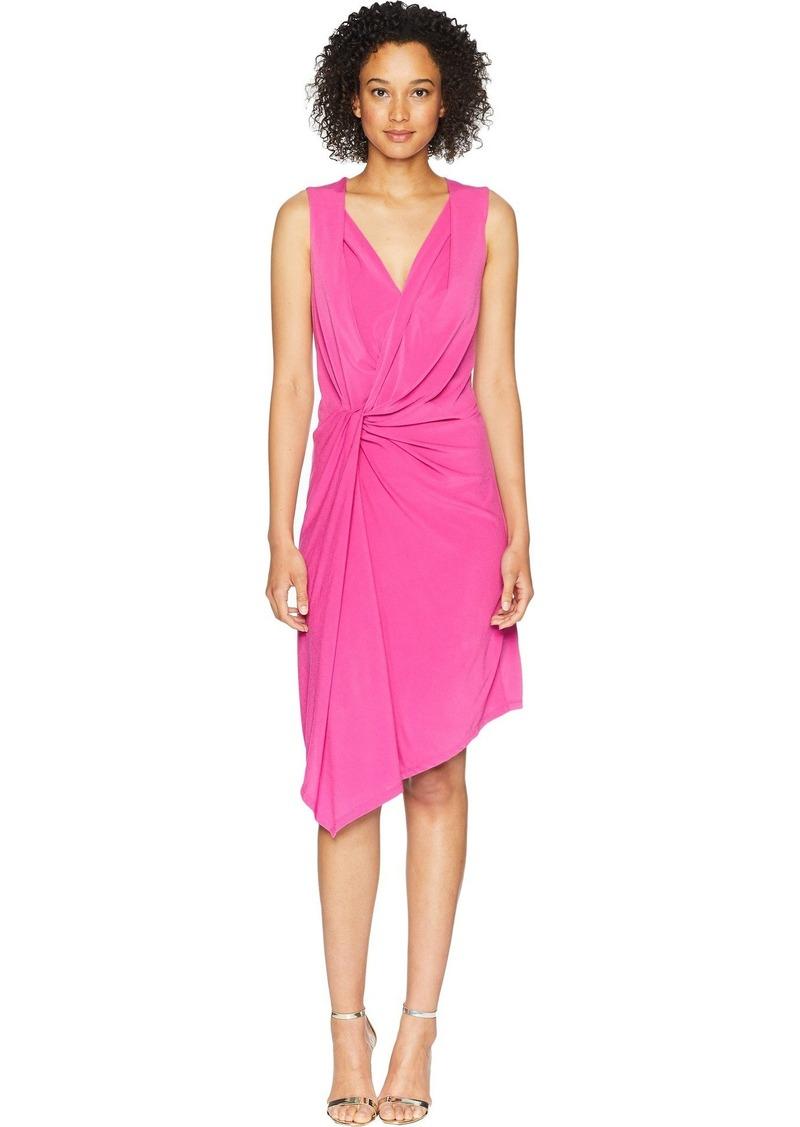 ELLEN TRACY Women's Twisted Front Sleeveless Dress  XL
