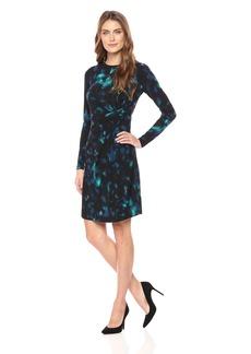 Ellen Tracy Women's Twisted Waist Dress  L