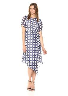 ELLEN TRACY Women's Wrap Dress  S