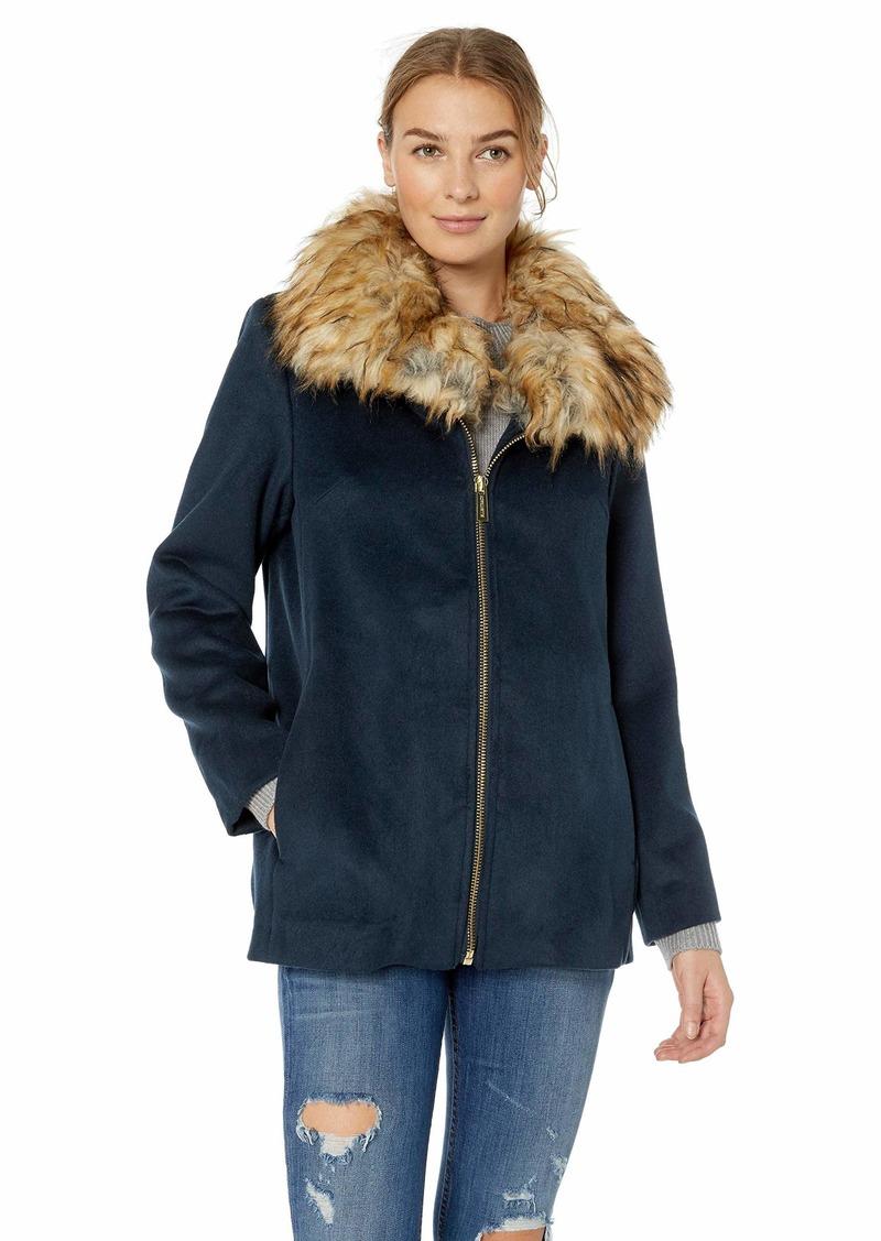 ELLEN TRACY Women's Zip Front Jacket  S