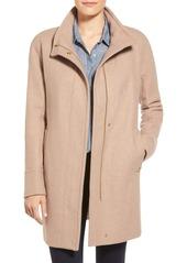 Ellen Tracy Wool Blend Stadium Coat (Regular & Petite)