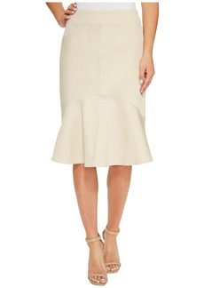 Ellen Tracy Flounce Hem Skirt