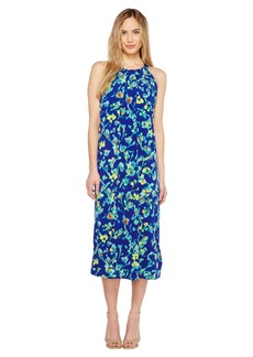 Ellen Tracy Halter Midi Dress