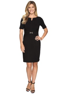 Ellen Tracy Luxe Stretch Dress w/ Keyhole