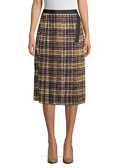 Ellen tracy pleated plaid skirt abvda7977fe a