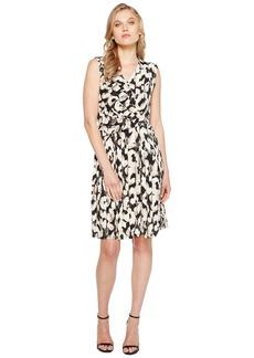 Ellen Tracy Twist Front Dress