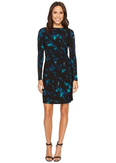 Ellen Tracy Twisted Waist Dress