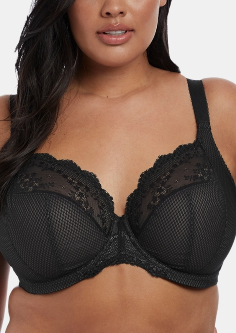Elomi Full Figure Charley Stretch Lace Plunge Bra EL4382, Online Only