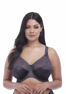 Elomi Women's Plus Size Cate Full Cup Banded Bra anthracite