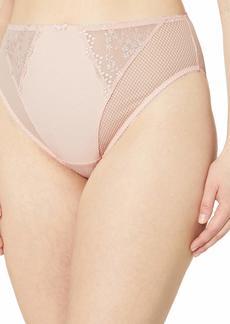 Elomi Women's Plus Size Charley Waist High Cut Leg Brief  XXXXL