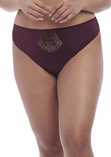 Elomi Women's Plus Size Eugenie Mid-Rise Thong  L