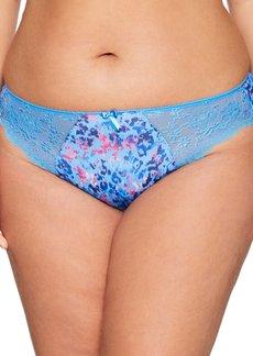 Elomi Women's Plus Size Morgan Stretch Lace Insert Brief  M