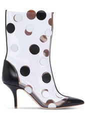Emanuel Ungaro 45mm Katoucha Leather & Plexi Boots