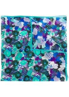 Emanuel Ungaro floral print scarf