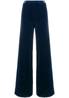 Emanuel Ungaro high rise flared trousers