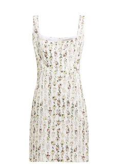 Emilia Wickstead Jezebel floral-print cotton mini dress