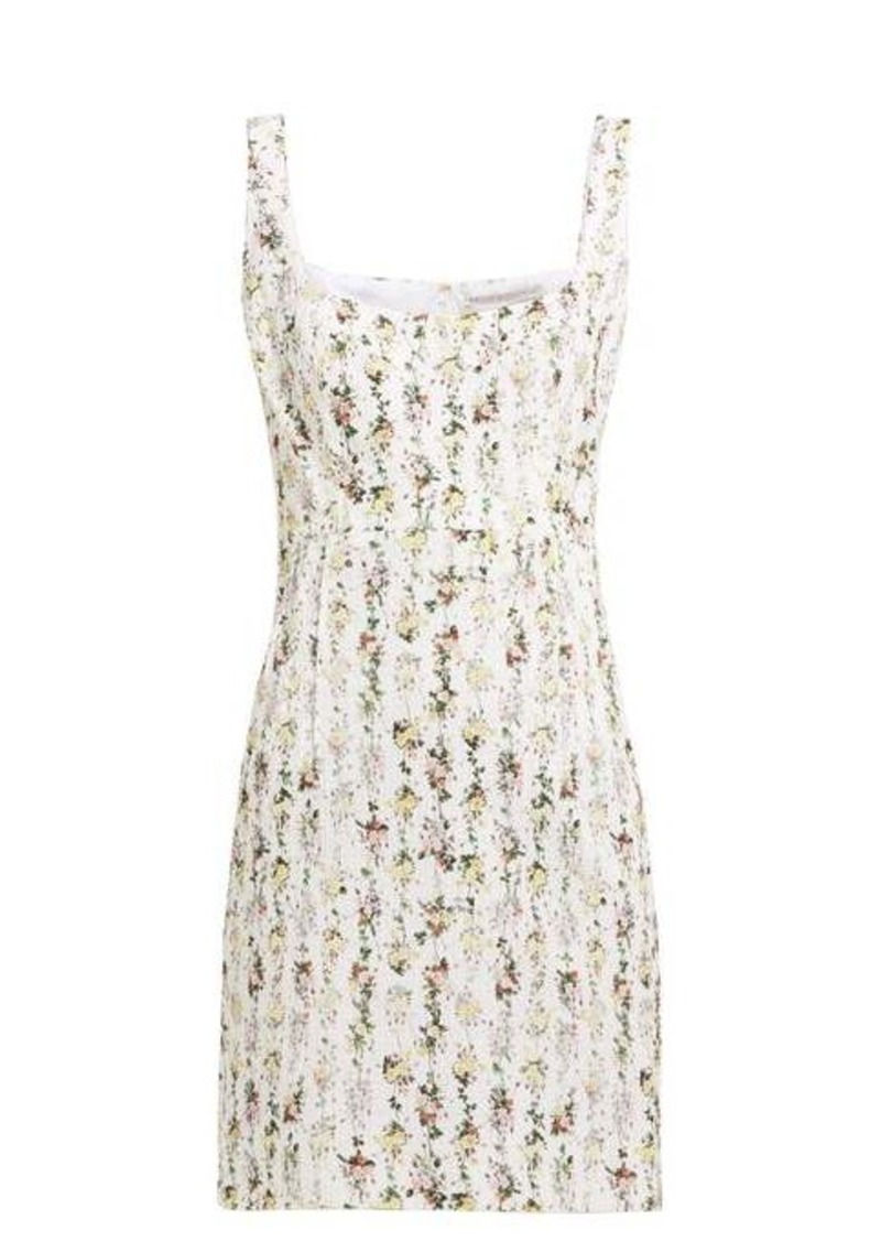 Emilia Wickstead Jezebel floral-print cotton mini dress