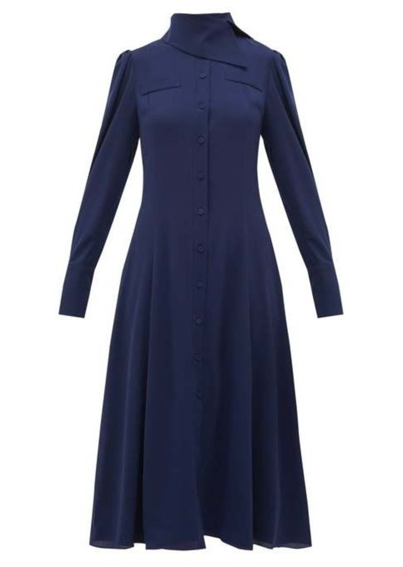 Emilia Wickstead Lucille georgette shirt dress