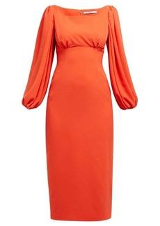 Emilia Wickstead Magita empire-waist dress