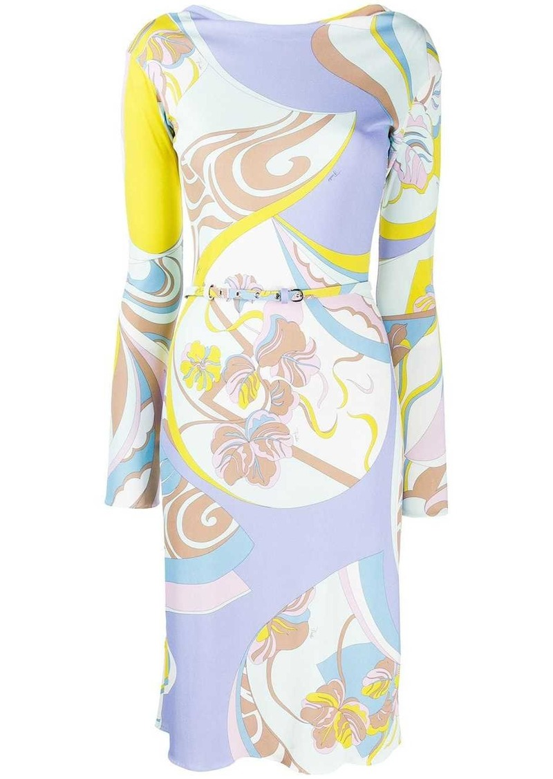 Emilio Pucci mid-length printed dress