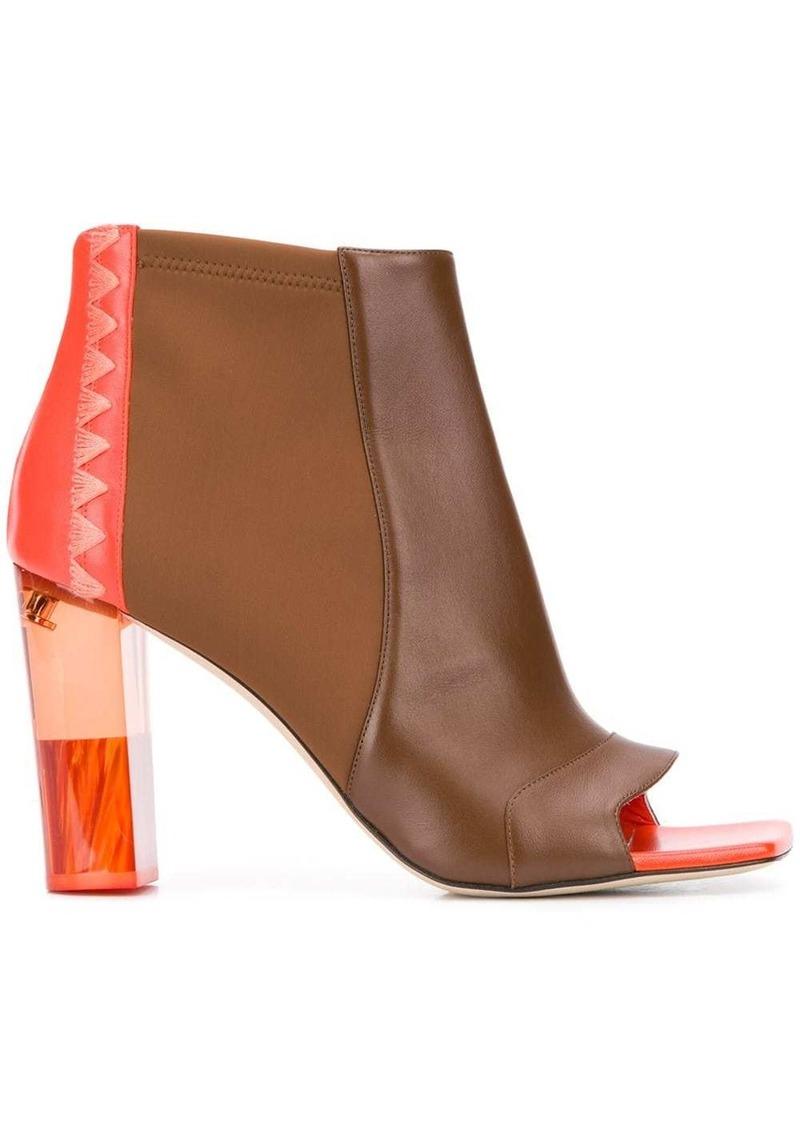 Emilio Pucci 100mm open-toe boots