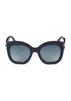 Emilio Pucci 51MM Cat Eye Sunglasses