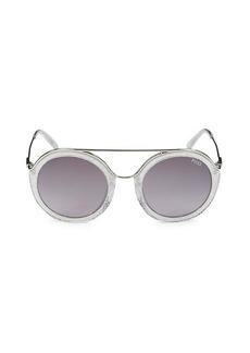 Emilio Pucci 52MM Round Sunglasses