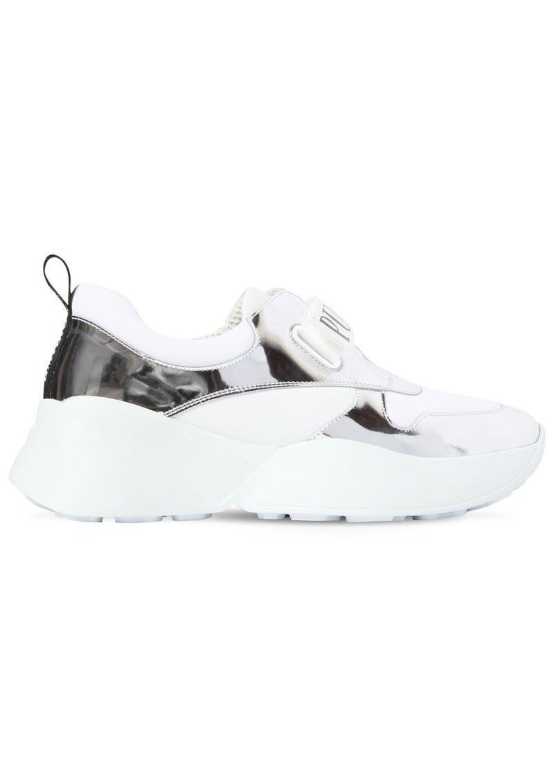 Emilio Pucci 60mm Positano Leather Sneakers