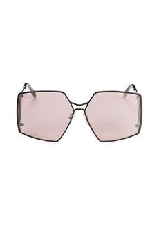 Emilio Pucci 61MM Oversized Geometric Sunglasses