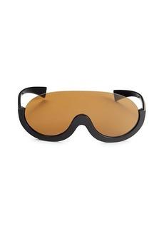 Emilio Pucci 65MM Oversized Shield Sunglasses