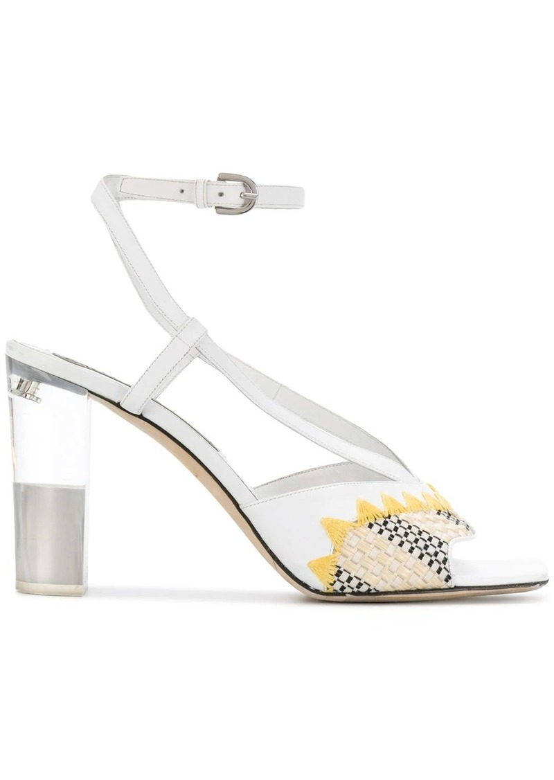 Emilio Pucci abstract print 100mm sandals