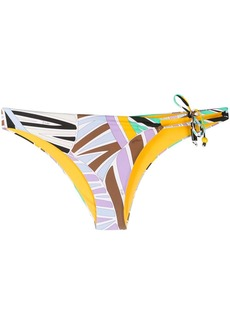 Emilio Pucci abstract-print bikini bottoms