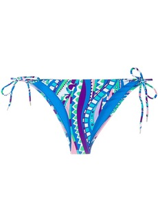 Emilio Pucci abstract print bikini bottoms