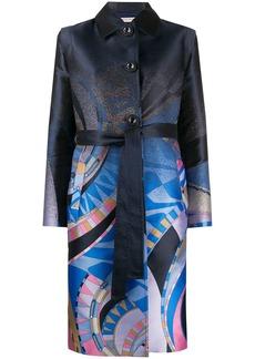 Emilio Pucci abstract print coat