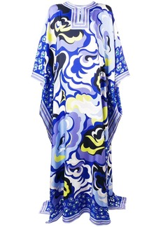 Emilio Pucci abstract print kaftan dress