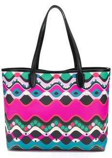 Emilio Pucci abstract print shopping bag